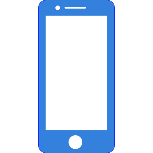Cell Phone Button Icon